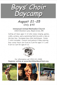 NSBC day camp flyer 2017